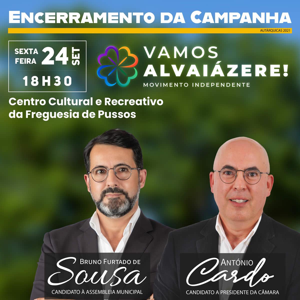 """Encerramento da Campanha """"Vamos Alvaiázere!"""" (alteração)"""